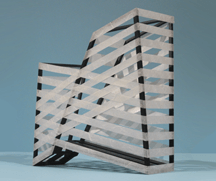 bandit architectural sculpture