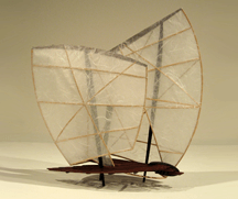 east wind - west wind architectural sculpture