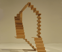 stairgaze architectural sculpture