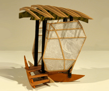 tea house architectural sculpture